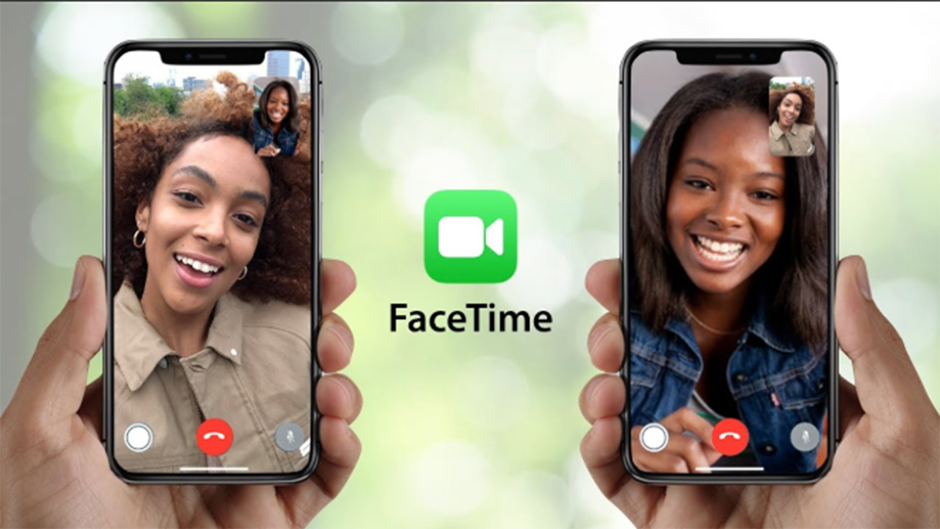 FaceTime video call