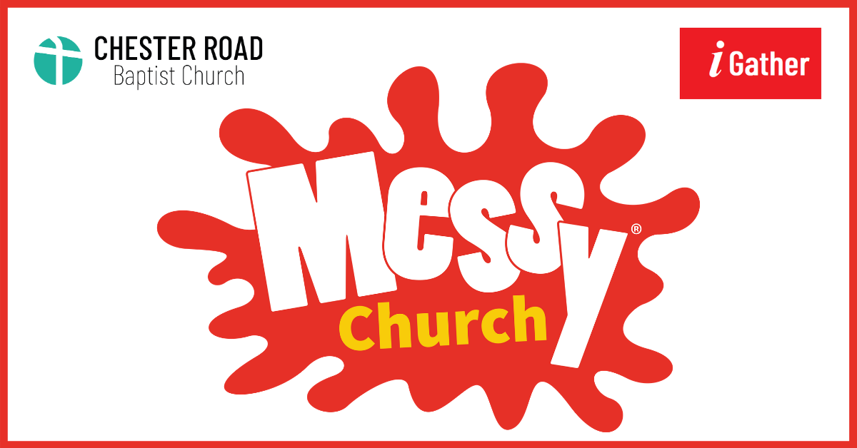 Messy Church Facebook ad