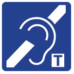Hearing loop sign